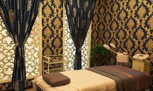 东南亚美容院装修效果图,住宅美容院装修效果图