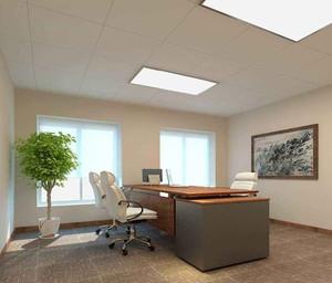 领导办公室装修实景图,苏州专业办公室装修
