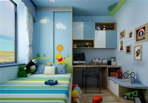 儿童房阳台榻榻米装修效果图,儿童房榻榻米床装修效果图