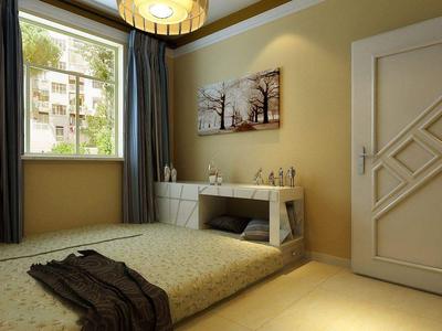 榻榻米小型卧室装修效果图,5平方小卧室榻榻米装修效果图