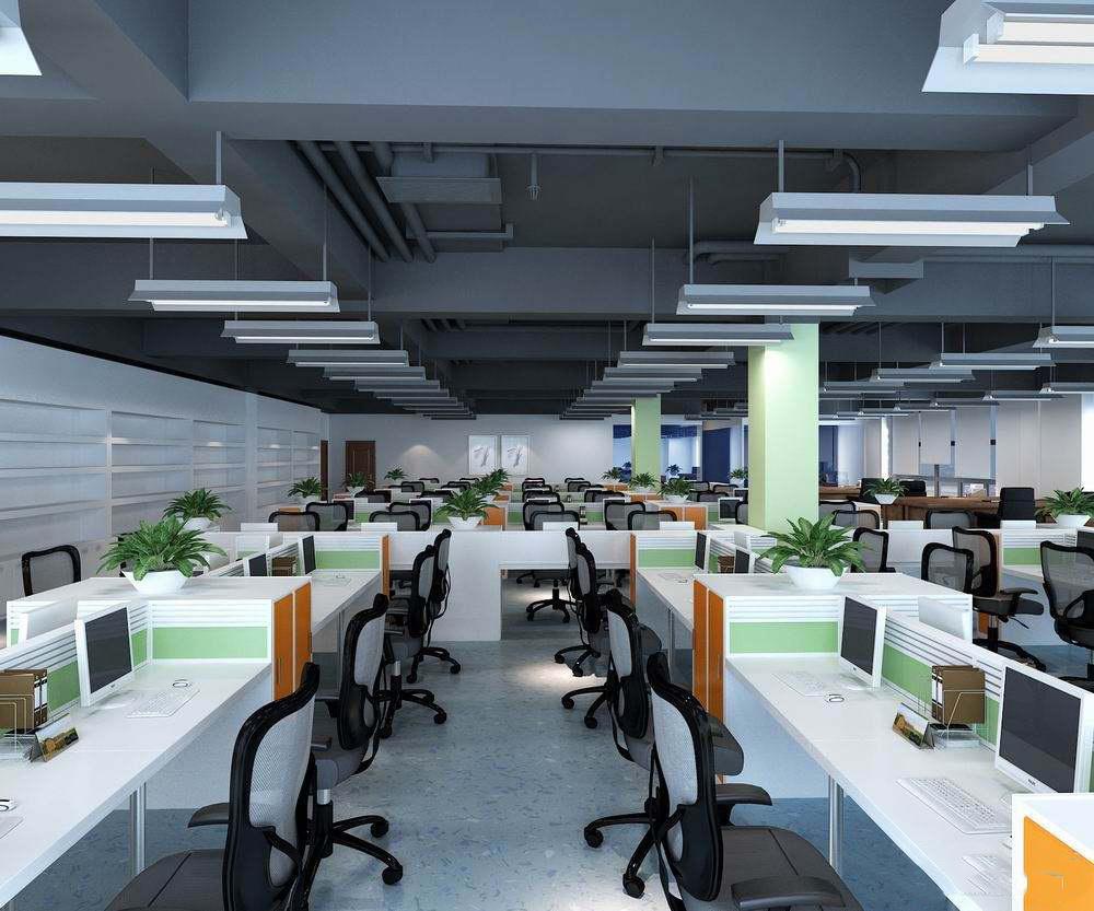 互联网公司办公室装修,西安互联网办公室装修