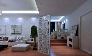 美式客廳裝修實景圖大全,客廳隔斷裝修實景圖大全