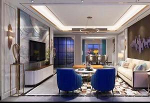 現代風格別墅客廳裝修效果圖,客廳現代風格吊頂效果圖大全