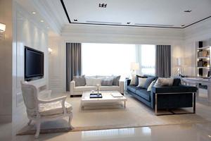 客厅简单装修实景图大全,现代简约风格家居客厅装修效果图