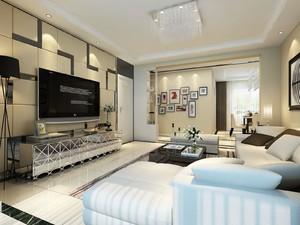 家装客厅电视墙效果图,家装客厅电视柜效果图