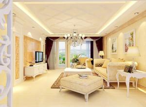 客厅装修简欧实景图大全,平房客厅装修实景图大全