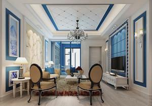 家装客厅餐厅吊顶效果图,地中海客厅吊灯效果图