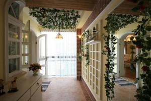田园风小户型客厅立面图,美式客厅立面图
