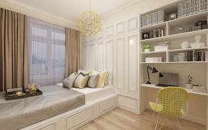 卧室书房榻榻米床装修效果图,装修榻榻米书房效果图