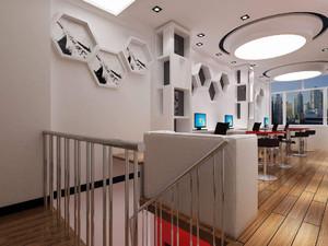 上海宝山办公室装修设计,办公室背景墙装修实景图