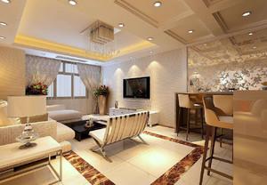 大户型客厅餐厅一体装修效果图,30平方客厅餐厅一体装修效果图