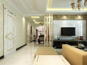 家居客廳壁紙裝修效果圖,家居客廳墻壁裝修效果圖