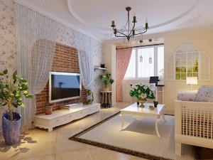 50平米两房一厅小户型装修效果图,50平米长方形小户型装修效果图大全