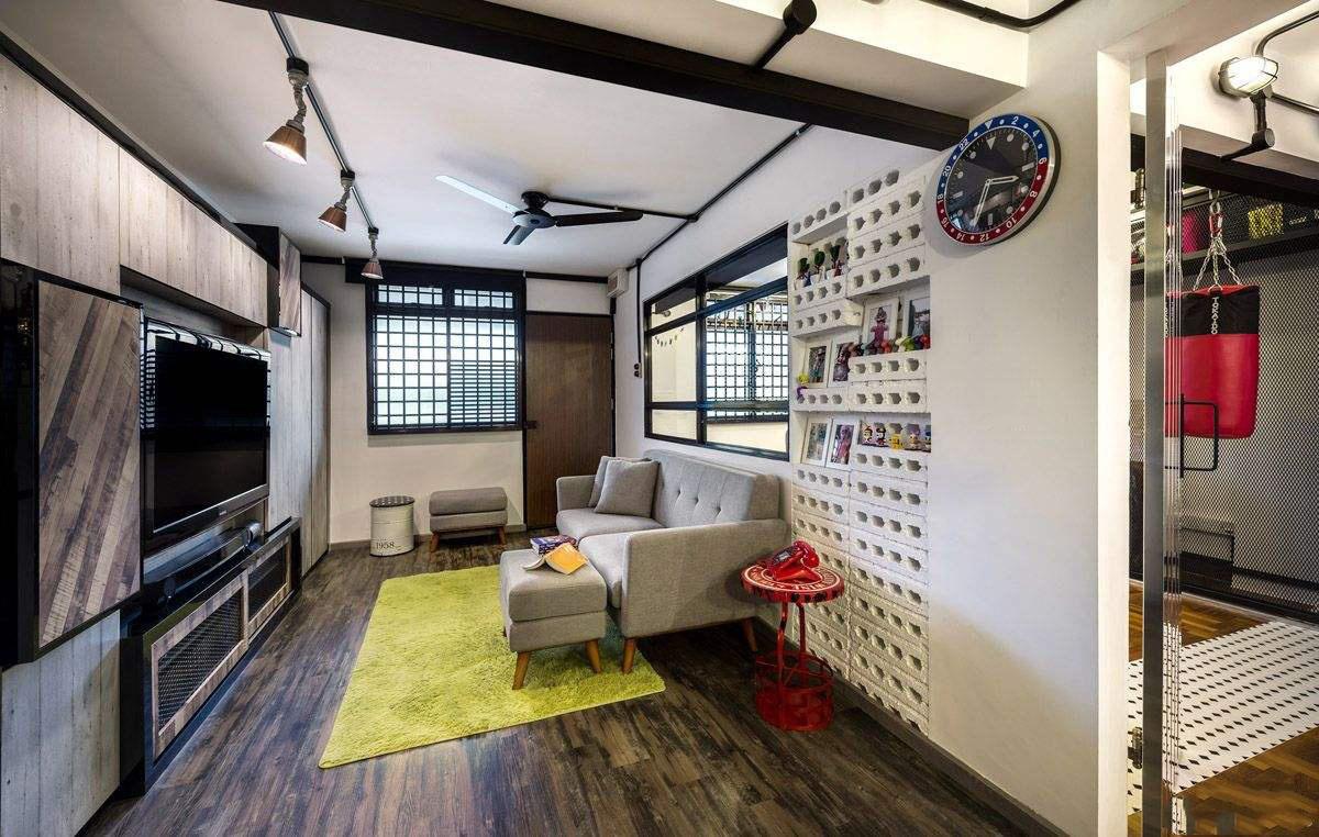 小户型家装搭配效果图欣赏,两室小户型家装设计效果图