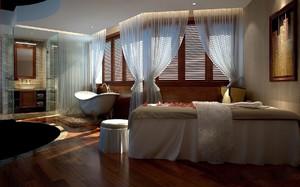 美容院洗浴间装修效果图,美容院40平方装修效果图