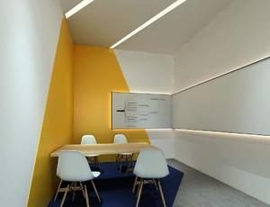 40平办公室装修实景图,创意办公室装修实景图