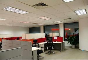 80平方米办公室装修实景图,办公室装修实景图图片欣赏