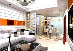 家装客厅餐厅设计效果图大全,进门餐厅客厅一体吊顶装修效果图