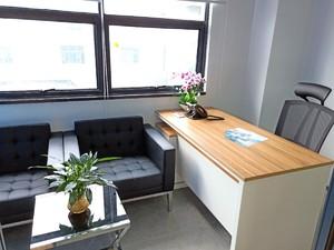 小户型办公室装修实景图,50平方办公室装修实景图