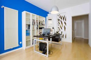 宜家办公室装修实景图,120平米办公室装修实景图