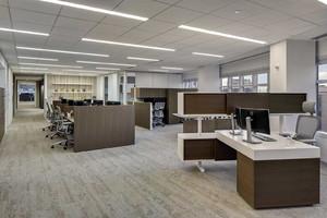 大型老总办公室装修实景图,外汇办公室装修实景图