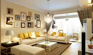 家居简约风格客厅装修效果图,大户型简约风格家居客厅装修效果图