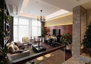 客厅实木家居装修效果图大全,家装客厅木饰面背景墙效果图