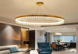客厅吊灯简单效果图,后现代客厅吊灯效果图