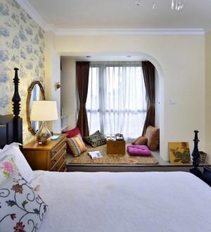 带飘窗榻榻米的卧室装修效果图,带飘窗的6平米卧室装修效果图