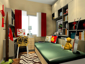 交换空间榻榻米卧室装修效果图大全,卧室榻榻米书房装修效果图欣赏