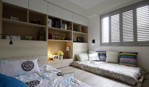 简约风格榻榻米床装修效果图大全,榻榻米和书房装修效果图欣赏