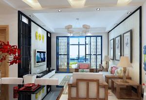 客厅装修小户型效果图,35小户型装修实景图