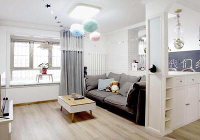 60平米小户型装修实景图,小户型三房装修设计图