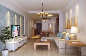 50平米小户型两室一厅装修效果图大全,小户型家装设计装修案例效果图