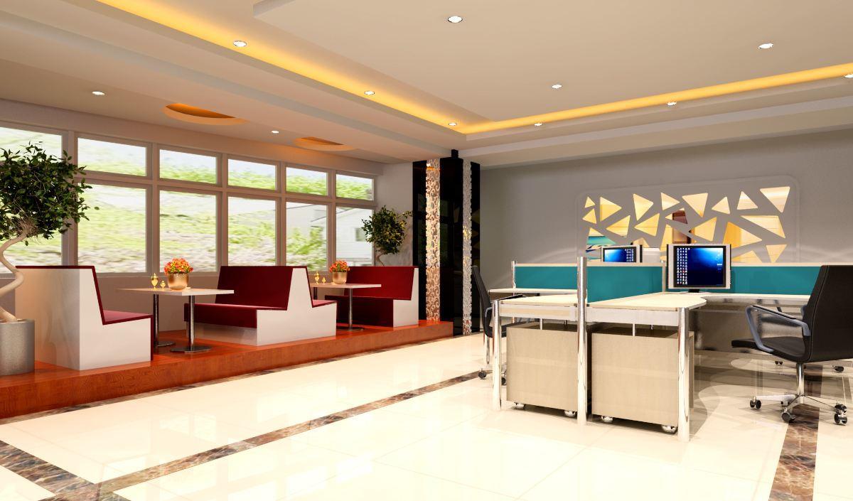 苏州装修设计办公室,苏州办公室装修效果图