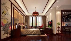 最新卧室装修图片大全效果图,中式卧室背景墙装修效果图大全
