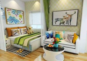 客厅和卧室的隔断装修效果图欣赏,小户型卧室装修效果图欣赏