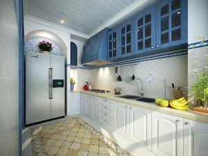 上海小户型厨房装修设计图,60平米小户型厨房装修效果图