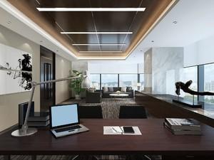 四川成都办公室装修,美式办公室装修实景图