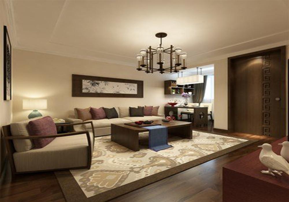 深色家居客厅装修效果图,家庭简装修客厅效果图大全