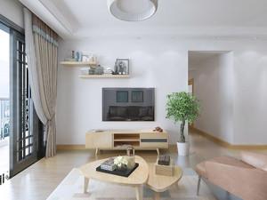 实木客厅家居装修效果图,北欧风格客厅木质家居装修效果图