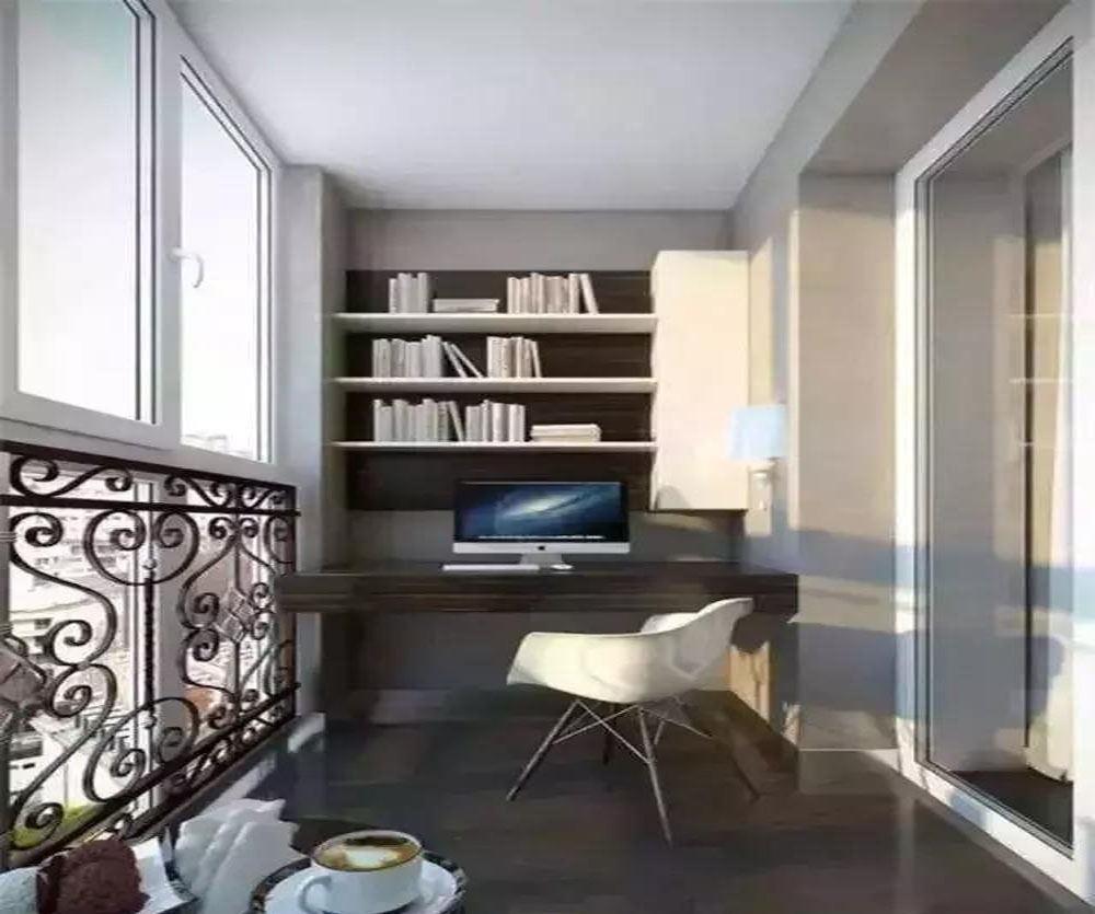8平米小卧室带阳台装修图,8平米2窗小卧室装修图
