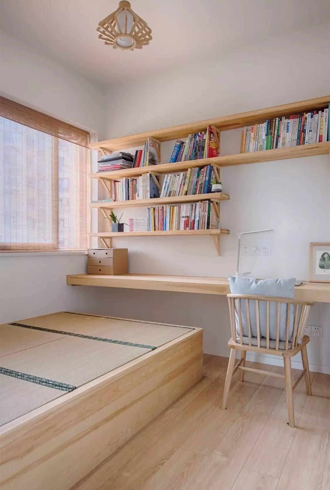 卧室榻榻米书房装修效果图大全,有榻榻米的书房装修效果图大全