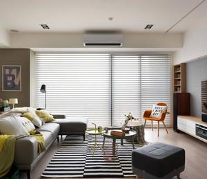 客厅里的落地窗怎样设计装修效果图
