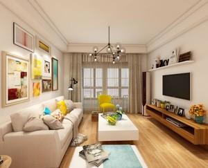 长形客厅装修与设计效果图