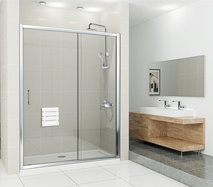衛生間淋浴房裝修效果圖賞析(xi)