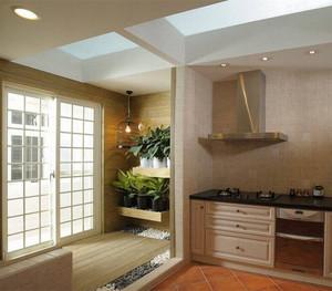 厨房与阳台隔断门装修效果图