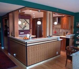 小餐馆开放式厨房设计图