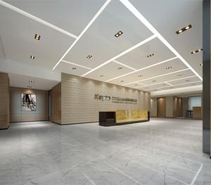 建筑公司前台装修设计效果图