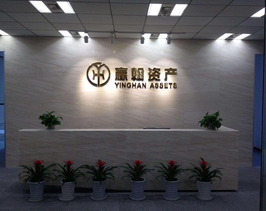 个性公司logo墙效果图